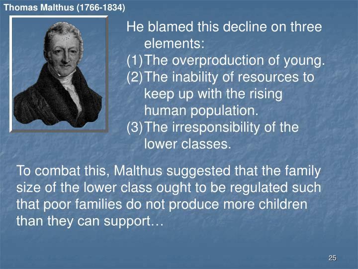 Thomas Malthus (1766-1834)
