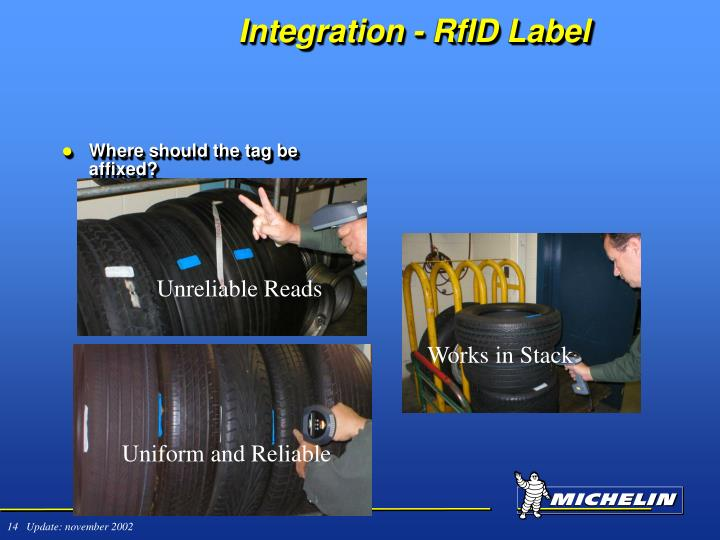 Integration - RfID Label
