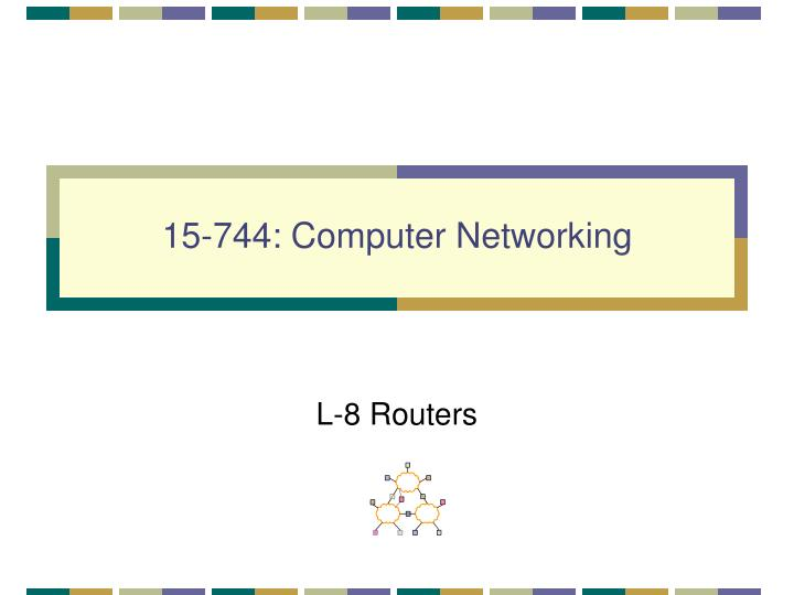 15 744 computer networking