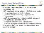 aggregating rules bv01
