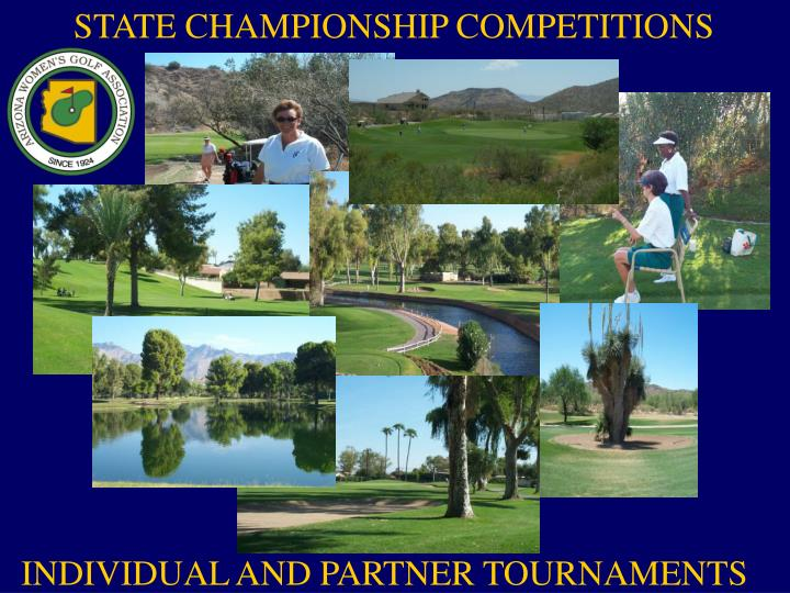STATE CHAMPIONSHIP COMPETITIONS