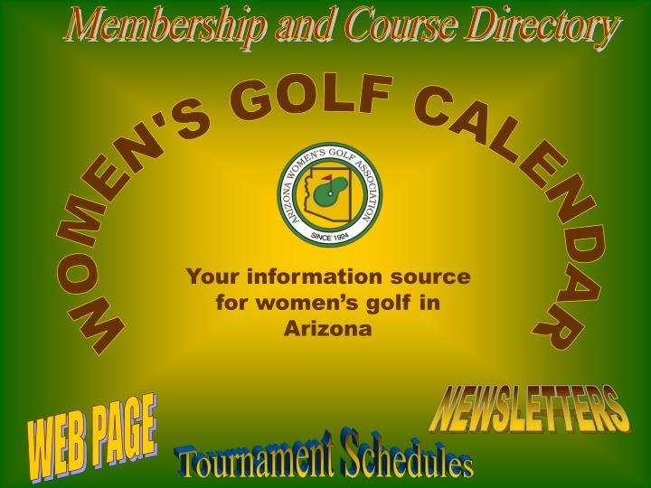 Membership and Course Directory