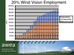20 wind vision employment