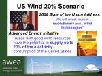 us wind 20 scenario
