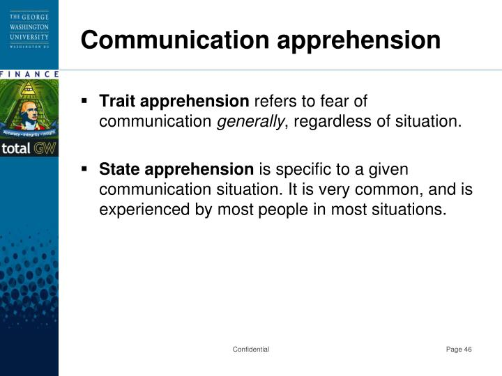 Communication apprehension