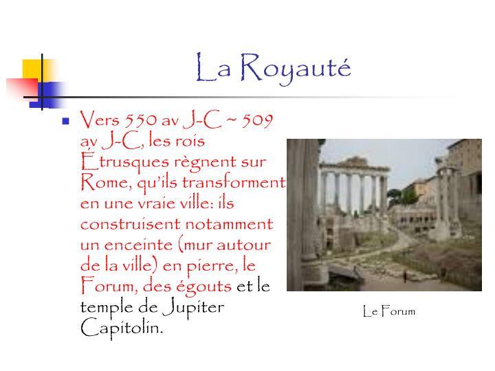 La Royauté