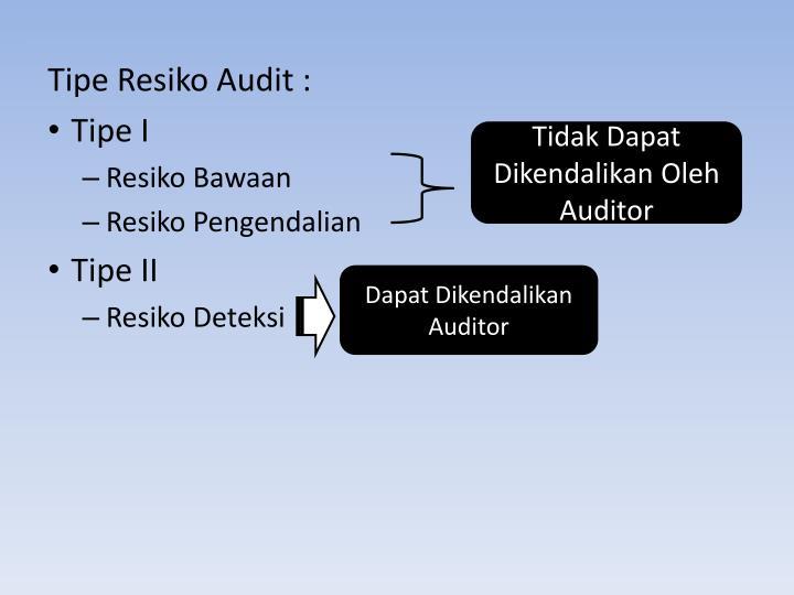 Tidak Dapat Dikendalikan Oleh Auditor