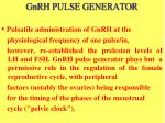 gnrh pulse generator3