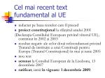 c el mai recent text fundamental al ue