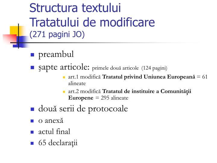 Structura textului