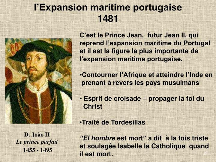 lExpansion maritime portugaise