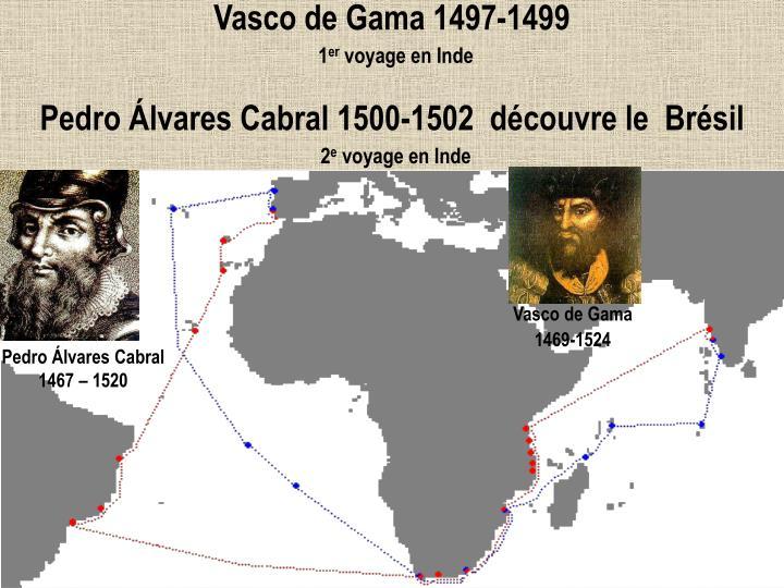 Vasco de Gama 1497-1499