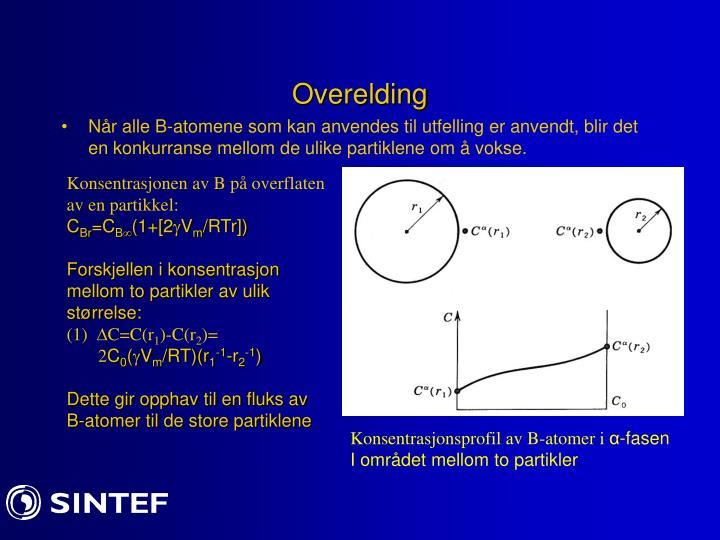 Overelding