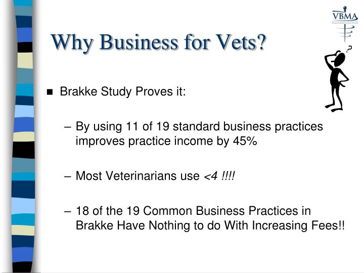 Why Business for Vets?