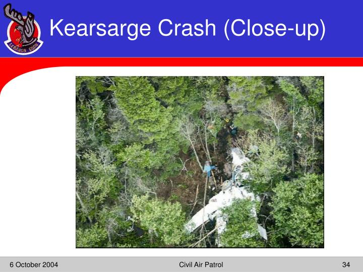 Kearsarge Crash (Close-up)