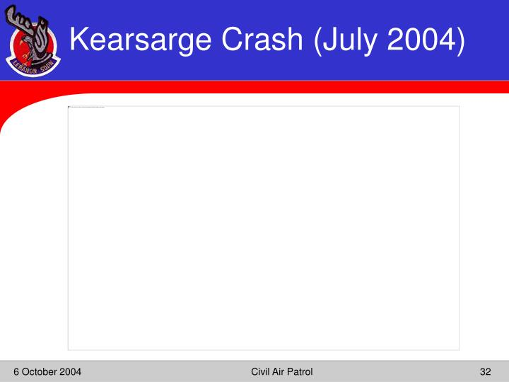 Kearsarge Crash (July 2004)