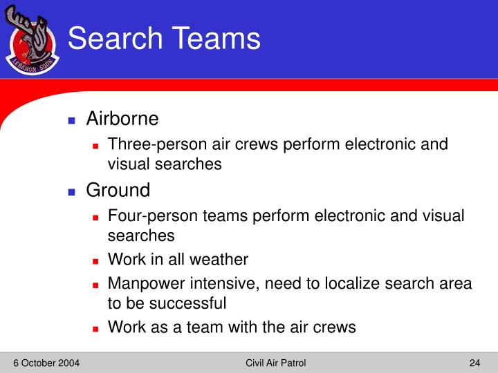 Search Teams