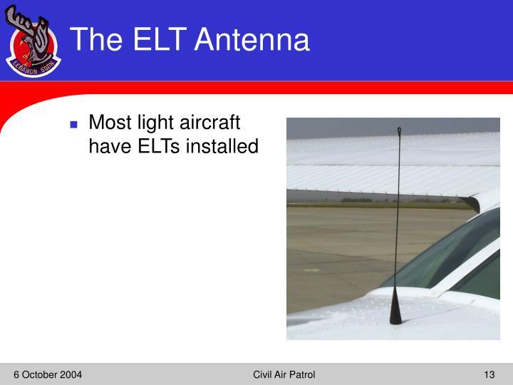 The ELT Antenna