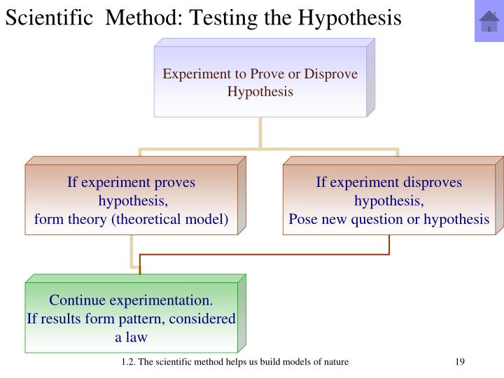 Scientific  Method: Testing the Hypothesis