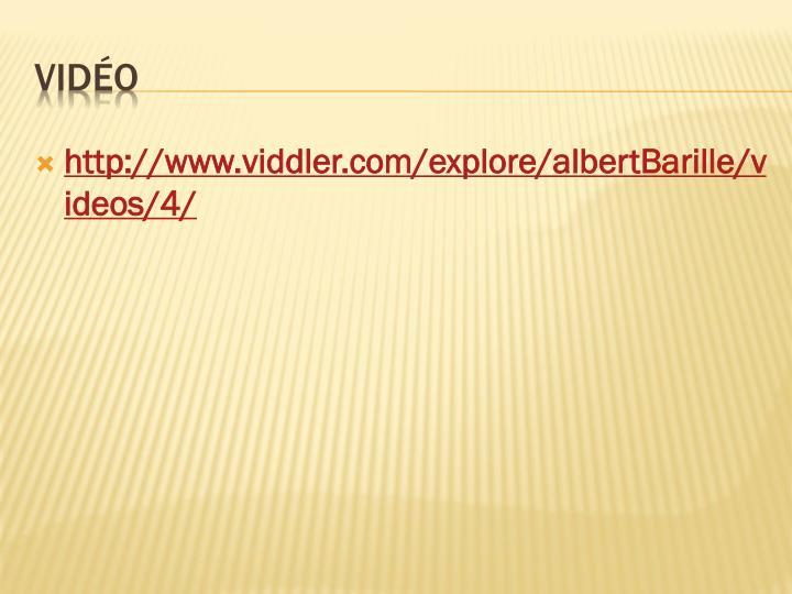 http://www.viddler.com/explore/albertBarille/videos/4/