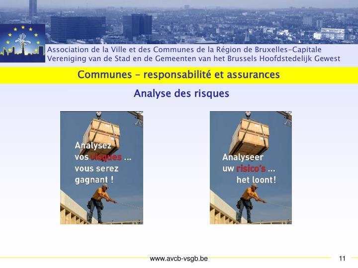 Communes – responsabilité et assurances