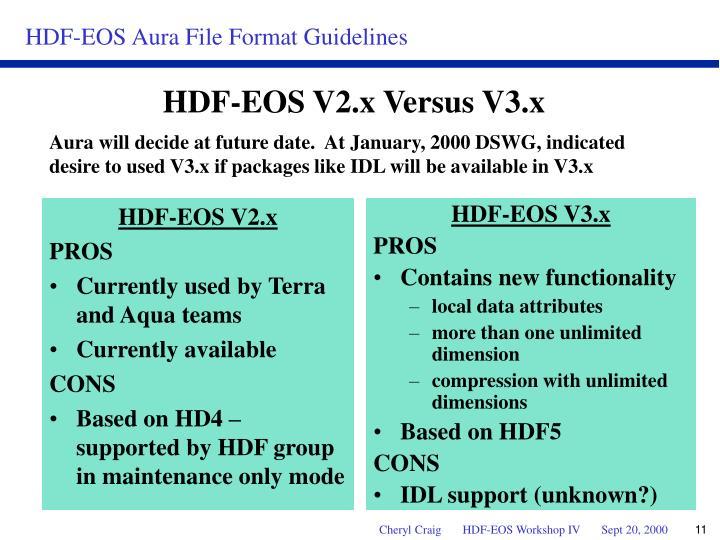HDF-EOS V2.x