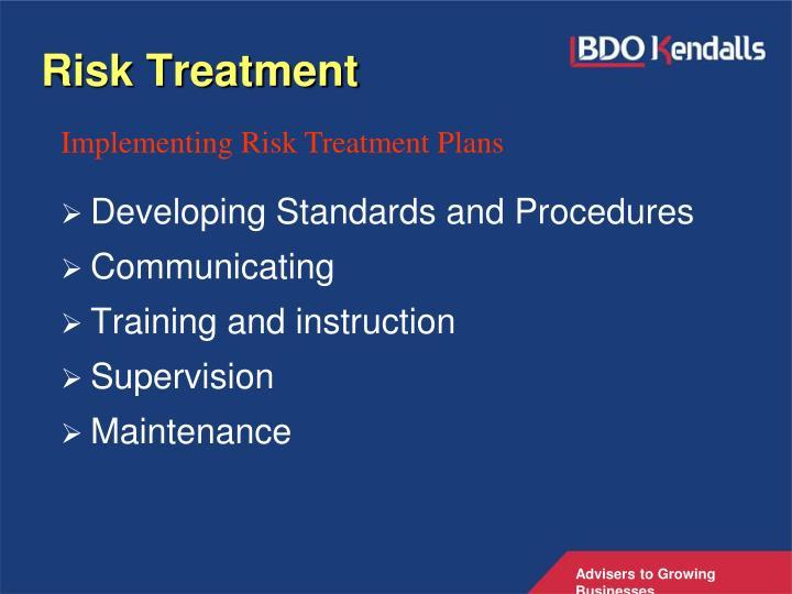 Risk Treatment