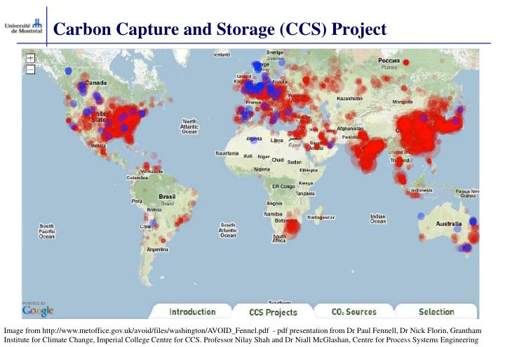 Carbon Capture and Storage (CCS) Project