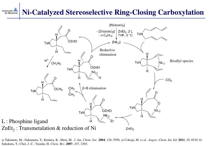 Ni-Catalyzed Stereoselective Ring-Closing Carboxylation