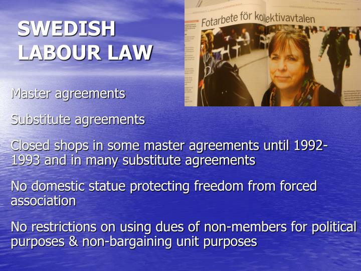 SWEDISH LABOUR LAW