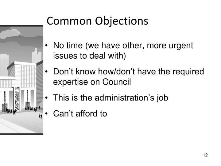 Common Objections