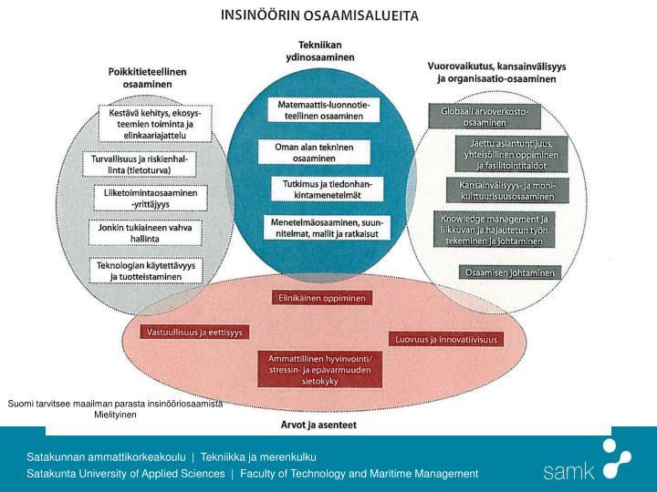 Suomi tarvitsee maailman parasta insinööriosaamista