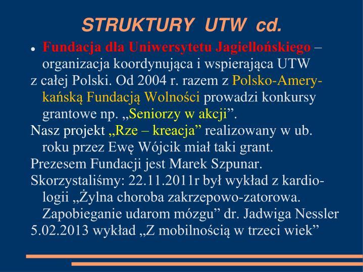 STRUKTURY  UTW  cd.