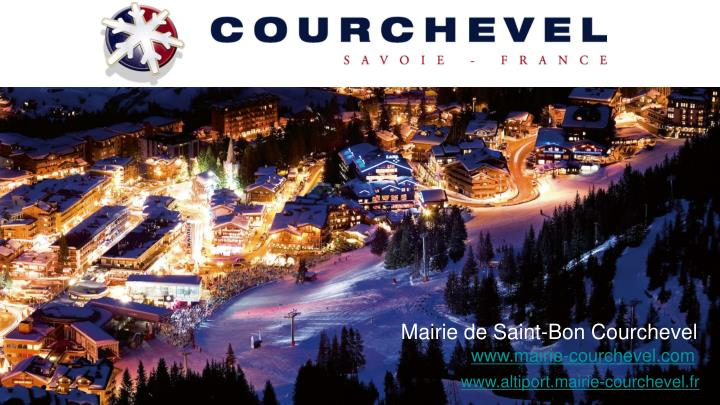 Mairie de Saint-Bon Courchevel