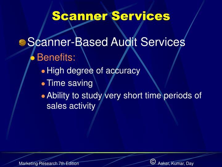 Scanner Services