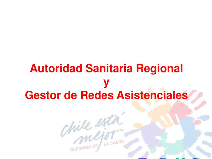 Autoridad Sanitaria Regional