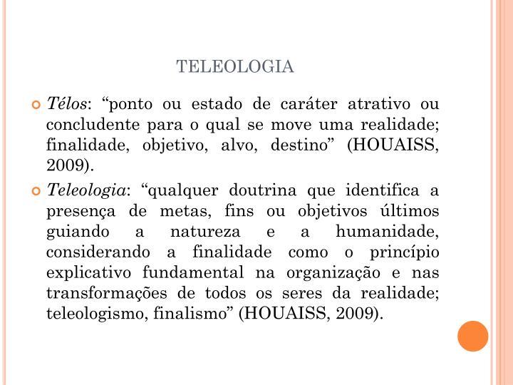 teleologia