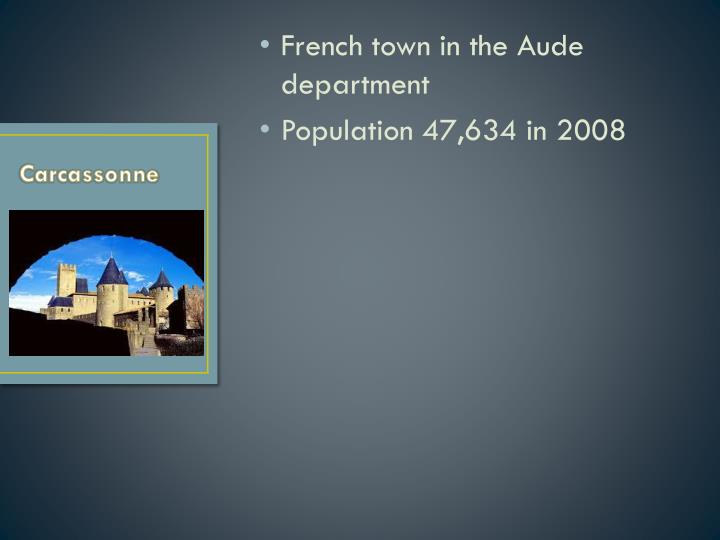 French town in the