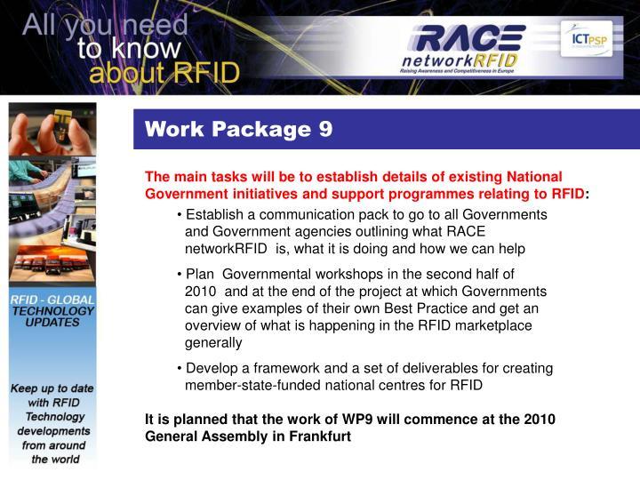 Work Package 9
