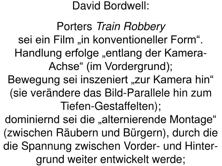 David Bordwell: