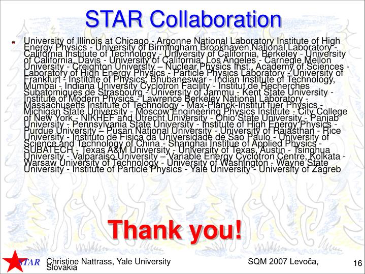 STAR Collaboration