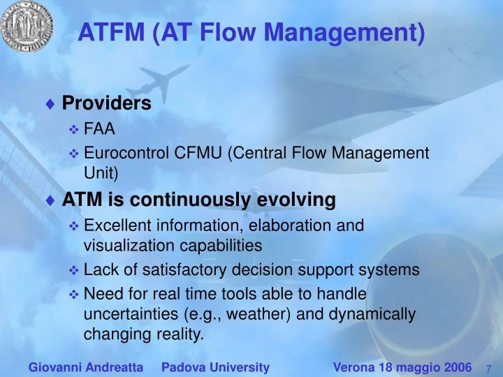 ATFM (AT Flow Management)