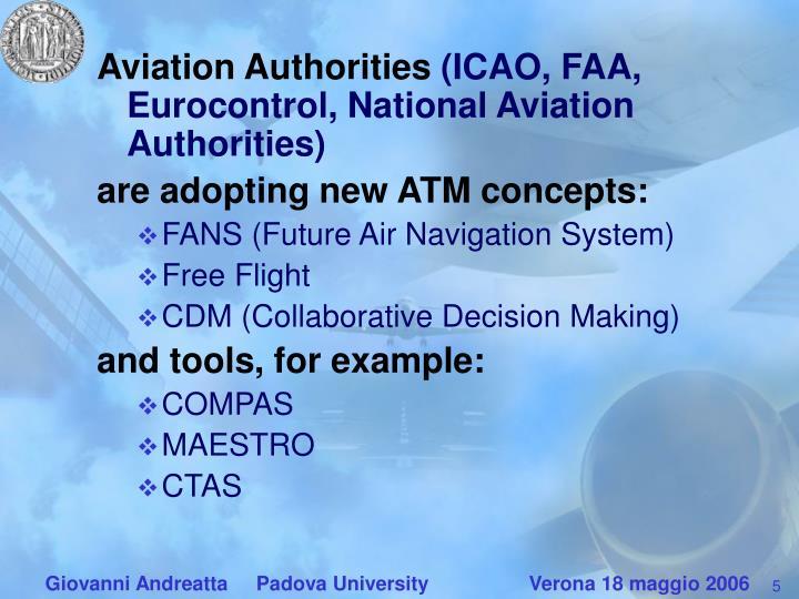 Aviation Authorities