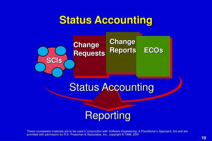 Status Accounting