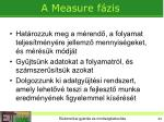 a measure f zis
