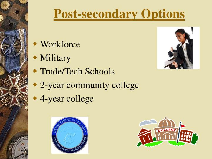 Post-secondary Options