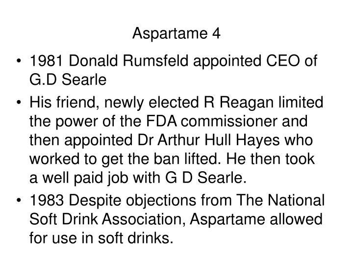 Aspartame 4