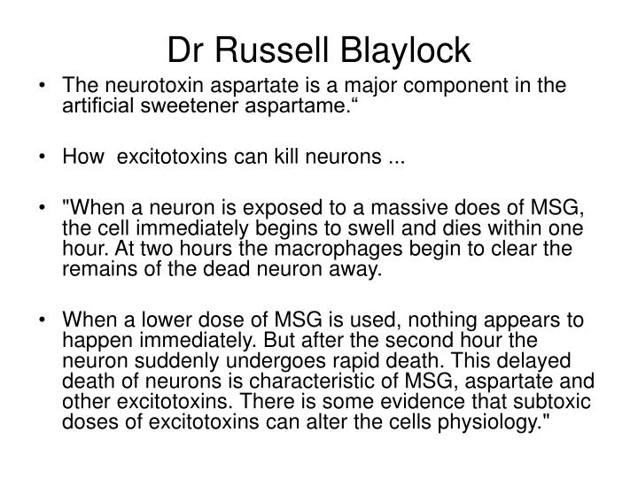 Dr Russell Blaylock