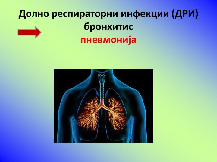 Долно респираторни инфекции (ДРИ)