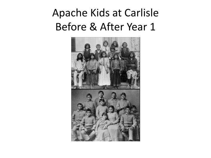 Apache Kids at Carlisle